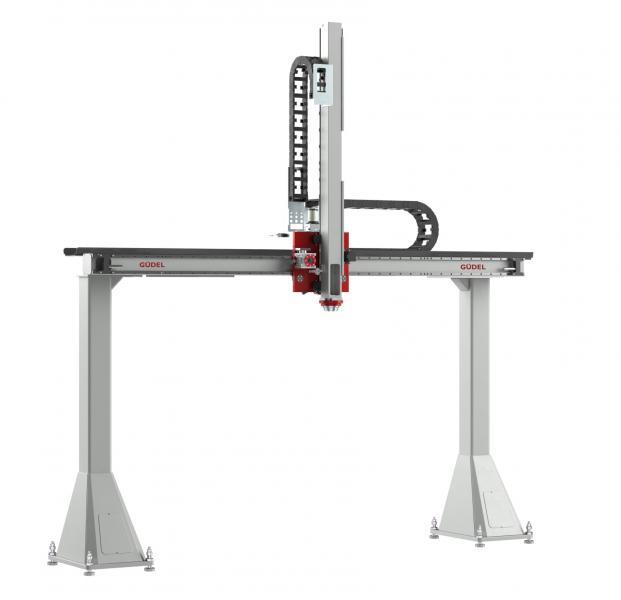 Viel Flexibilität für eine Nutzlast bis 80 kg mit dem Zweiachsportal ZP-3