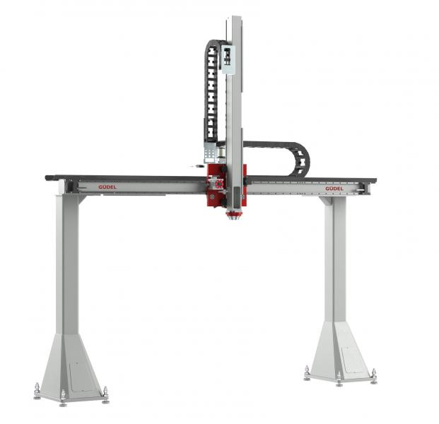 High flexibility for payloads of up to 80 kg with the size-3 two-axis gantry