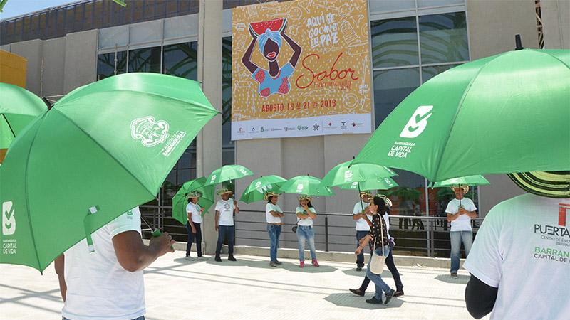 Messemarkt Kolumbien