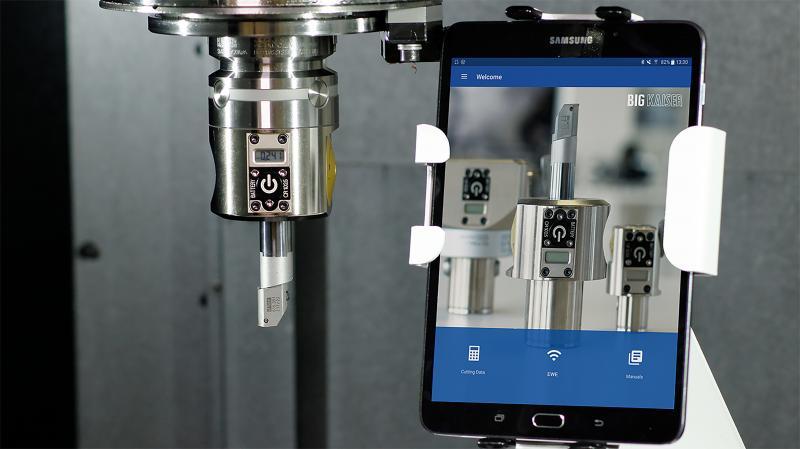 BIG KAISER stellt nächste Generation digitaler Feinbohrköpfe mit Wireless-Verbindung vor