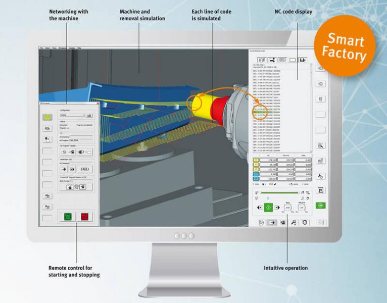 New and highly efficient hyperMILL® VIRTUAL Machining simulation solution