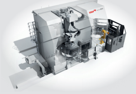 Extreme precision: Berthiez RVU 2800/250 machining centres are setting new standards in high-precision machining, thanks to a radial and axial run-out of less than 2.0 µm/m. These multi tasking machines can grind, turn, cut and perform process measurements on large, heavy components of up to 20 t (max. diameter: 2,500 mm, max. height: 1,500 mm) in a single clamping operation.