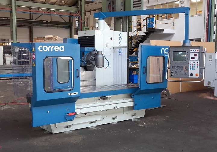 La fresadora CORREA CF20/20 se queda en Castilla y León