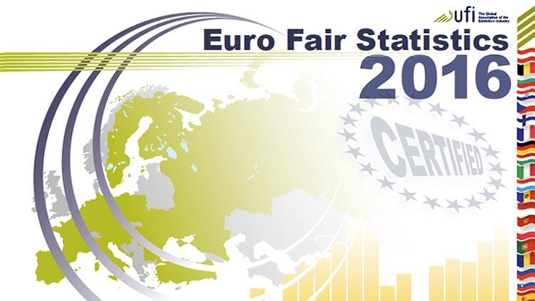 Kennzahlen für rund 2.600 Messen in Europa  Messe-Statistik 2016 mit Veranstaltungen aus 25 Ländern