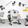Solutions for quick die change in automatic punching machines and high-speed presses