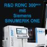 EMO 2019: CNC-Drehmaschine RDNC 300 mit Siemen SINUMERIK ONE