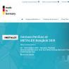 Website of the German Pavilion during METALEX Bangkok 2019 is online