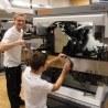 Kuchler lernen Schärfen mit Vollmer Maschinen