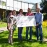 Hommel unterstützt Kinderpalliativzentrum in Datteln