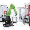 Automatisierte Fertigungslösung zur Komplettbearbeitung von Teilen mit Dreh- und Fräsbearbeitungen