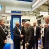 Highlight zur der EMO 2017: Bundespräsident Steinmeier besucht ISCAR-Stand