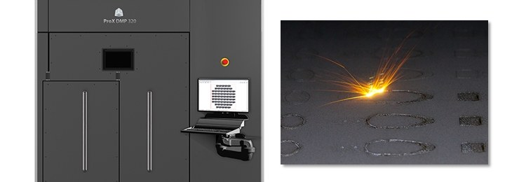 ProX DMP 320 for High Precision, High Throughput Direct Metal Printing