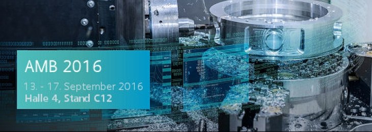 AMB 2016 - Digitalization in Machine Tool Manufacturing