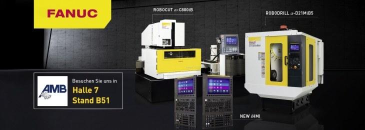 Neue Maschinen von FANUC auf der AMB