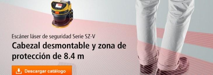 Keyence: Escáner láser de seguridad Serie SZ-V