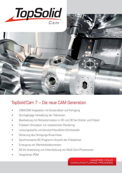 TopSolid'Cam 7 – Die neue CAM Generation