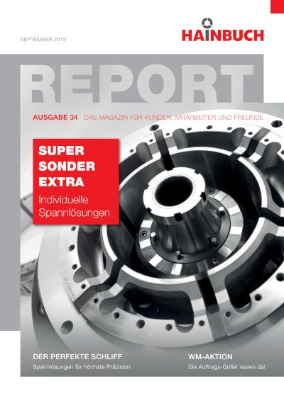 Kundenmagazin »report«
