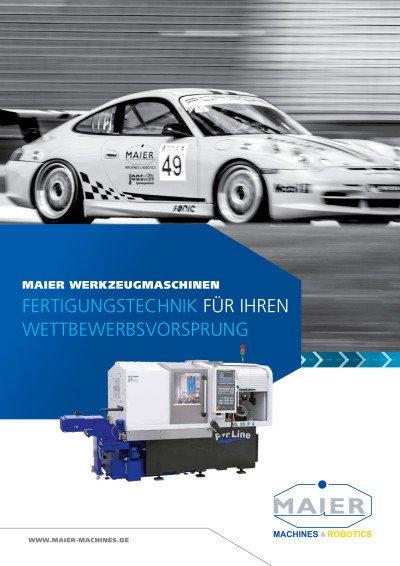 Maier Imagebroschüre