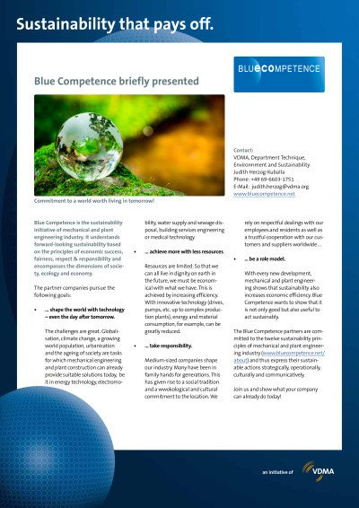 Blue Competence briefly presented
