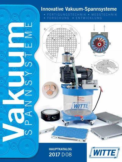 Vakuum-Spannsysteme Hauptkatalog 2016