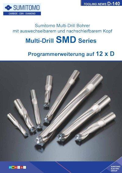 Tooling News D-140: Multi-Drill SMD Series - Programmerweiterung auf 12 x D