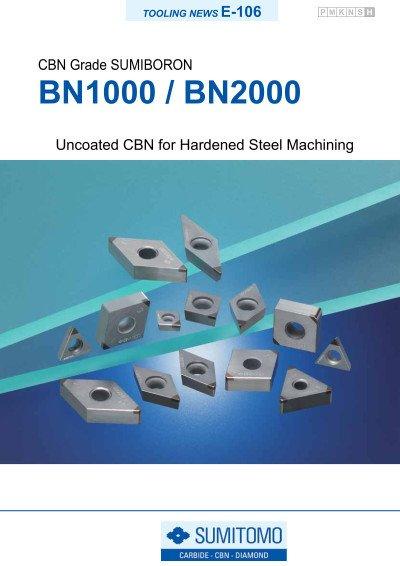 Tooling News E-106: BN1000 / BN2000 SUMIBORON
