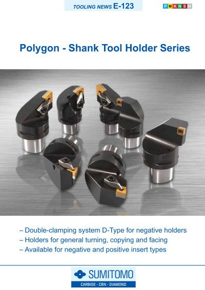 Tooling News E-123: Polygon - Shank Tool Holder Series