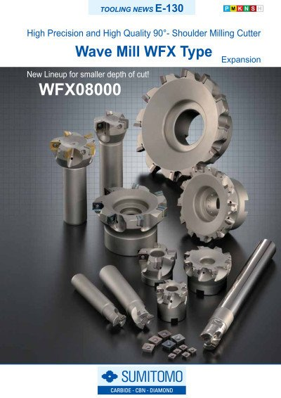 Tooling News E-130: Wave Mill WFX Type