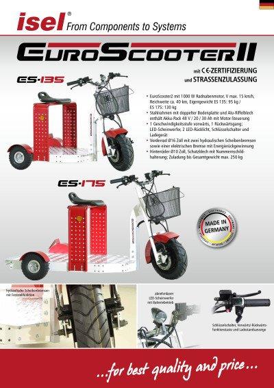 EuroScooter II - mit -Zertifizierung und StrassenZulassung
