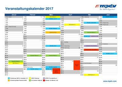 MPDV-Veranstaltungskalender 2017