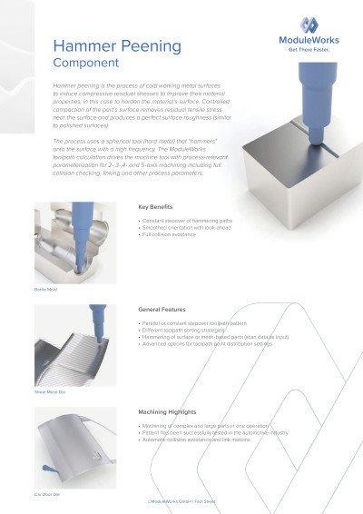 Hammer Peening Component