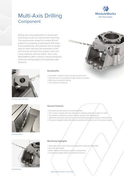 Multi-Axis Drilling Component