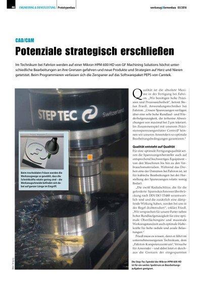 Potenziale strategisch erschließen: Anwenderbericht Eugen Fahrion GmbH & Co. KG