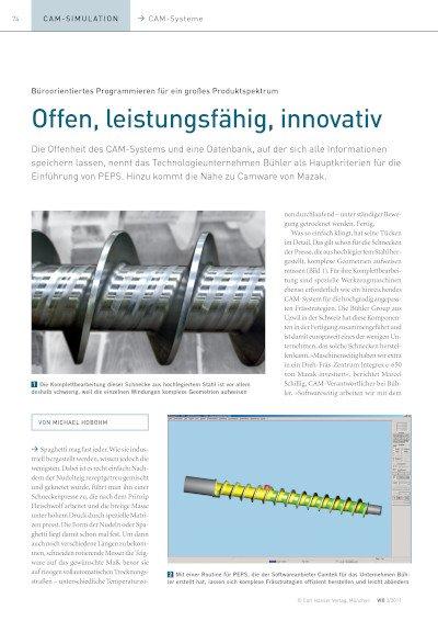 Offen, leistungsfähig, innovativ: Anwenderbericht Bühler AG