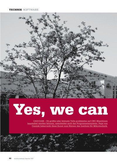 Yes, we can: Anwenderbericht Institut für Mikrotechnik Mainz