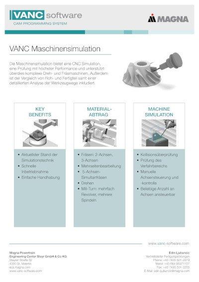Maschinensimulation