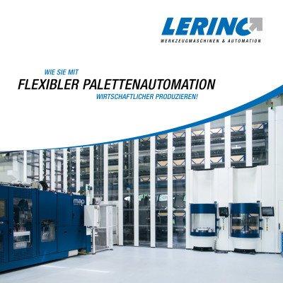 Flexible Palettenautomation