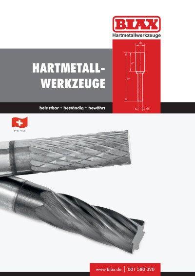 Hartmetallwerkzeuge
