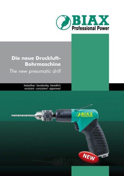 Die neue Druckluft-Bohrmaschine