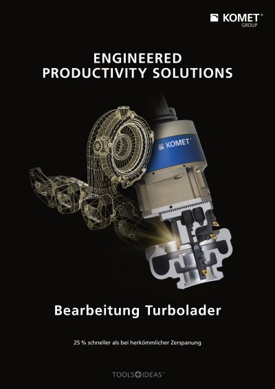 Bearbeitung Turbolader - ENGINEERED PRODUCTIVITY SOLUTIONS