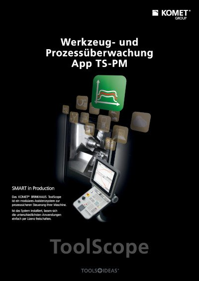 ToolScope App TS-PM Werkzeug- und Prozessüberwachung