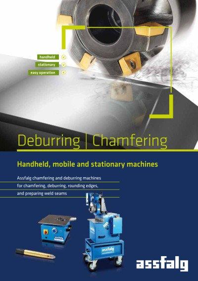 Assfalg catalog Deburring | Chamfering