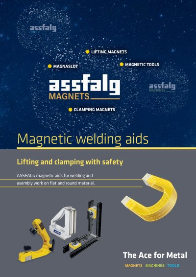 Assfalg magnetic welding aids