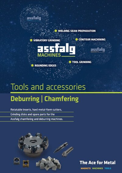Assfalg catalog Tools and accessories Deburring | Chamfering EN