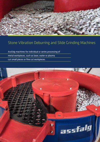 Assfalg Catalog Stone Vibration Deburring and Slide Grinding Machines