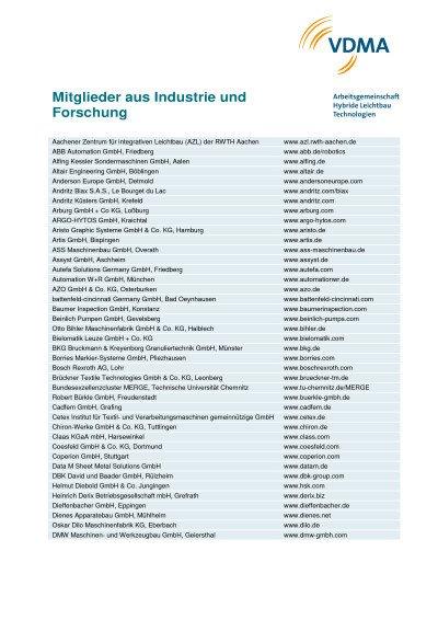 AG-Mitglieder 2017