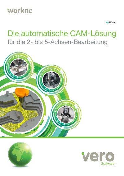 WorkNC - Die automatische CAM-Lösung für die 2- bis 5-Achsen-Bearbeitung