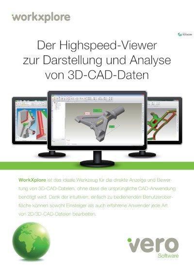 Der Highspeed-Viewer zur Darstellung und Analyse von 3D-CAD-Daten