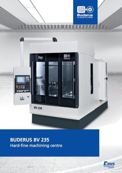 BV 235 Hard-fine machining centre