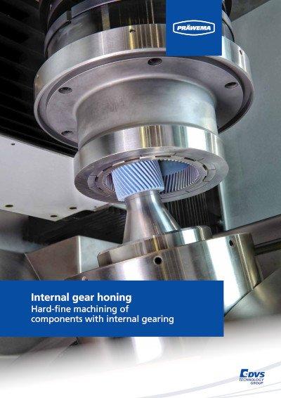PRÄWEMA Gear Honing of internal gearings